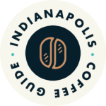 Indianapolis Coffee Guide Logo Badge