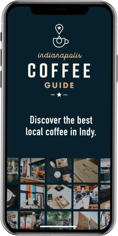Indianapolis Coffee iPhone app